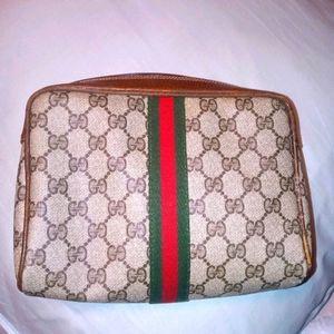 Vintage Gucci clutch pouch